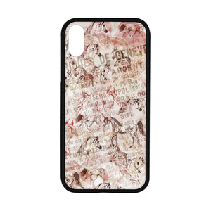 "French Vintage Arabian Horse Rubber Case for Iphone XR (6.1"")"