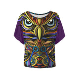 Mythical Owl Ladies Blouse