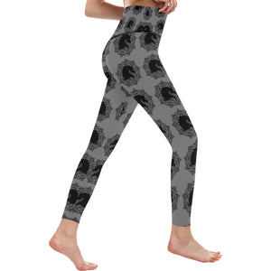 Arabian Horse Mandala Leggings