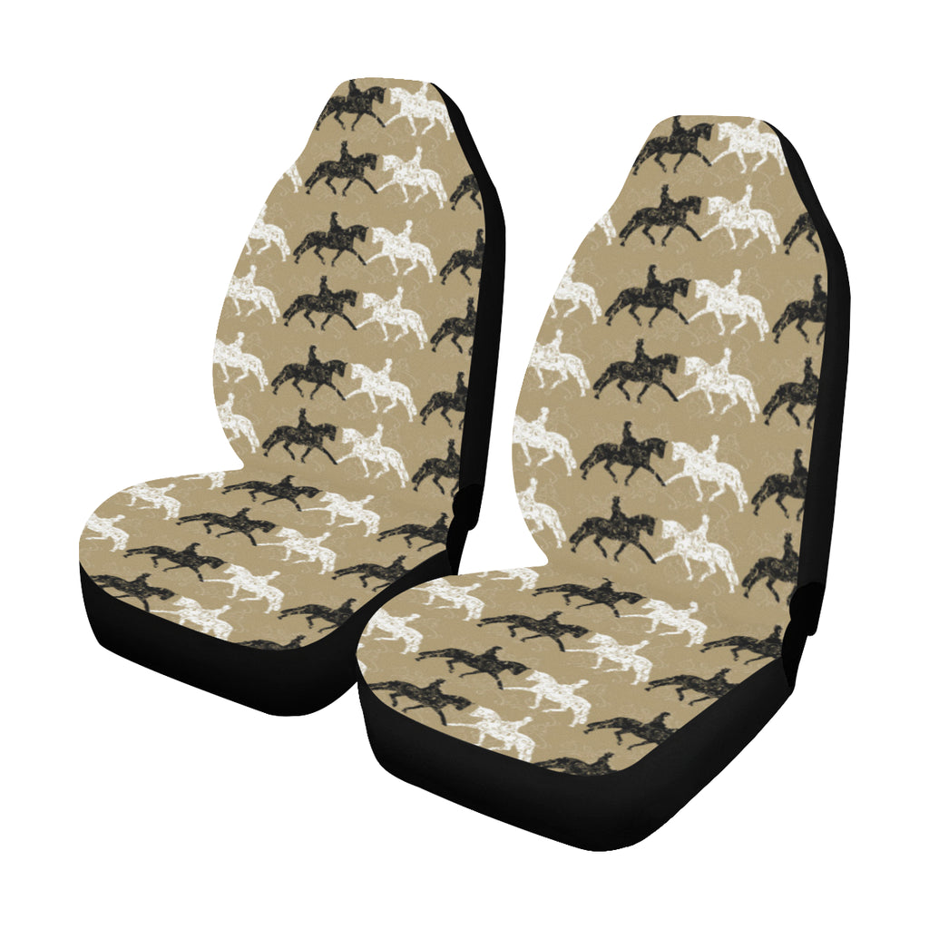 Dressage Motif Car Seat Covers