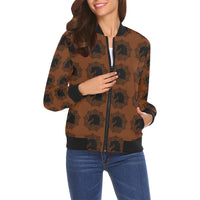 arabmand electric rusty Women's All Over Print Casual Jacket (Model H19)