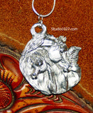 Tender Moments Arabian mare and foal Necklace