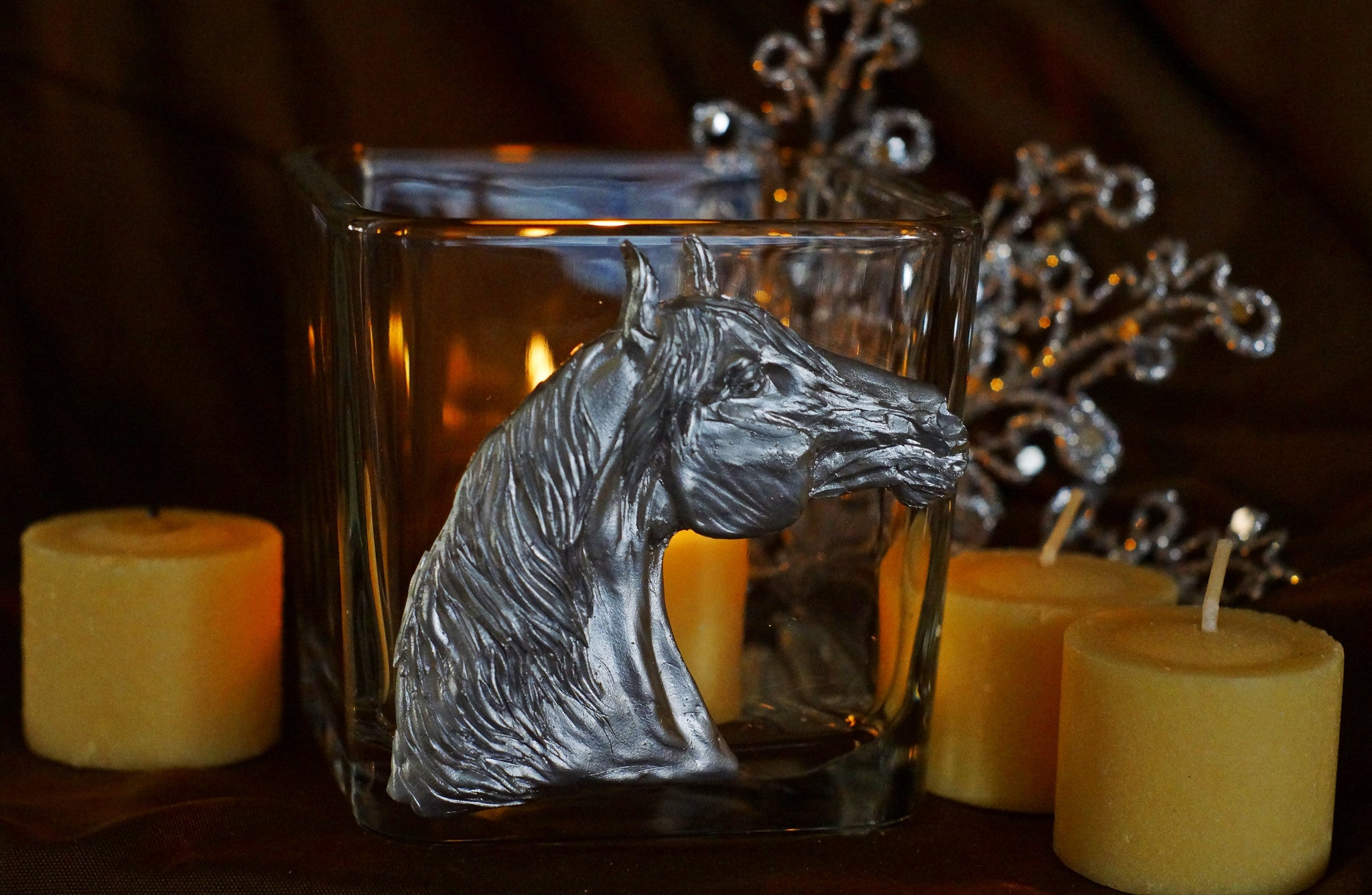 Beautiful Horse Candle Holder