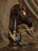 The King of Egypt Arabian Horse Sculpture