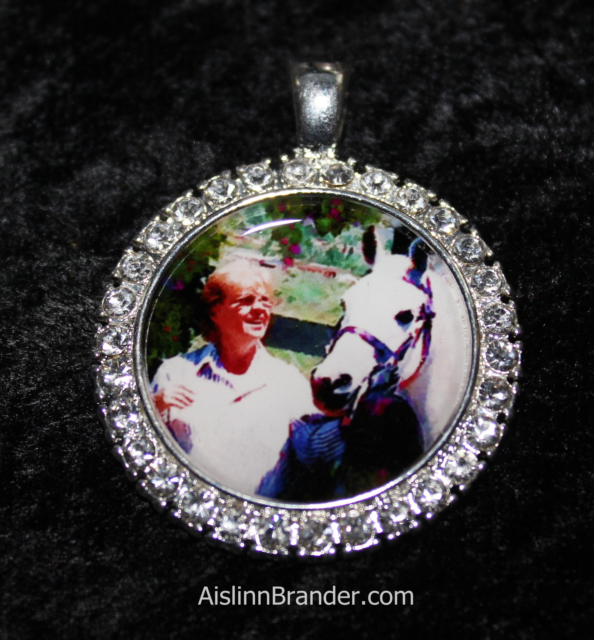 RhineStone Personalized Photo Jewelry