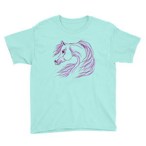 Perfectly Pretty Arabian Horse Youth T-Shirt
