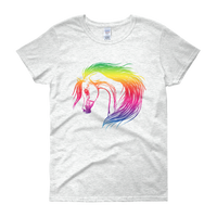 Rainbow Arabian Ladies Shirt