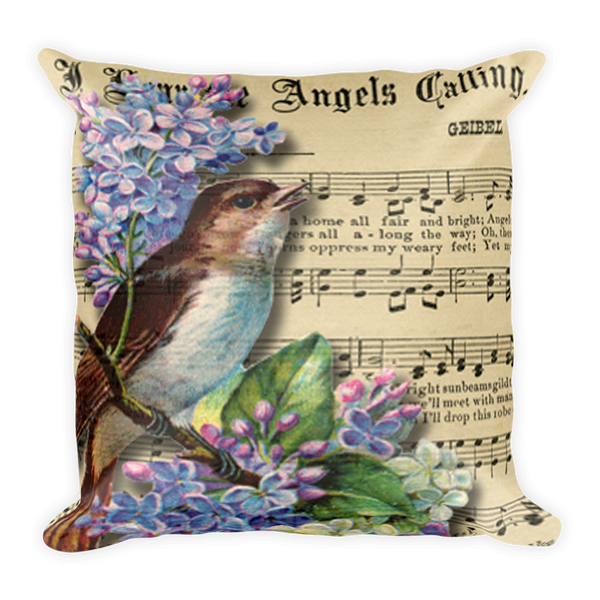Song Bird Pillow