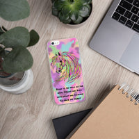 Born to be Wild Horse Inspirational iPhone Case