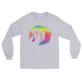 Rainbow Arabian Long Sleeve T-Shirt