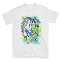 Arabian Horse Native Costume Short-Sleeve Unisex T-Shirt