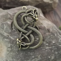 Viking Norse Scandinavian Dragon Necklace