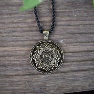 Stunning Mandala Necklace