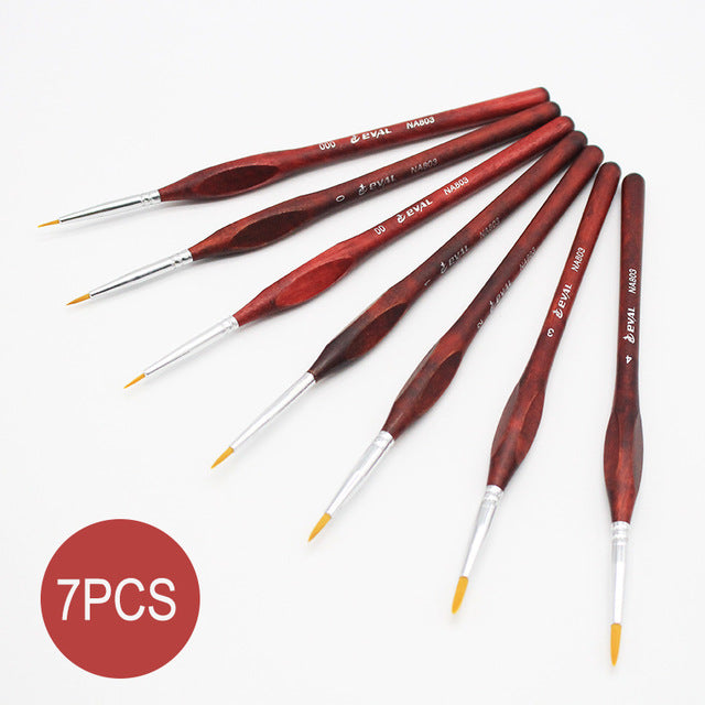 Paint Brush Sets for Detail