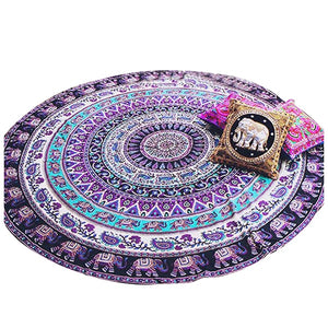 Round Tapestry Mandala Wall Hanging Table Cloth Stall decoration