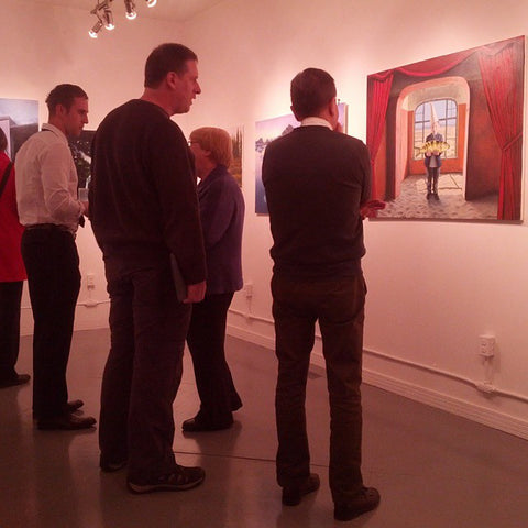 Figures of Speech exhibition #ottawa #art #AllenEgan