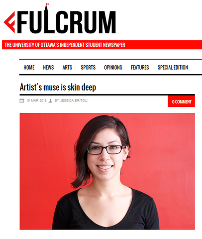 "Jessica Eritou of Fulcrum (University of Ottawa), features Sabrina Chamberland in an interview:  ""Chamberland's first solo..."