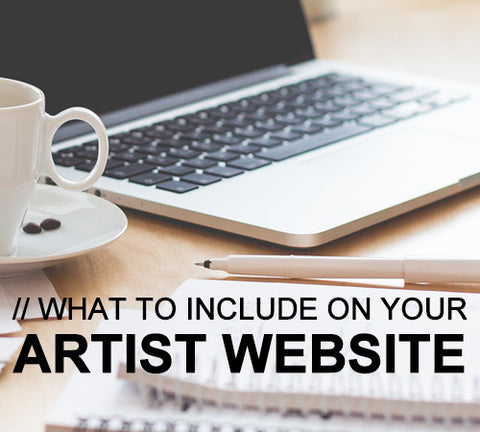 Artist websites. They are one of the most important tools an artist has in order to make their work visible these days. A...