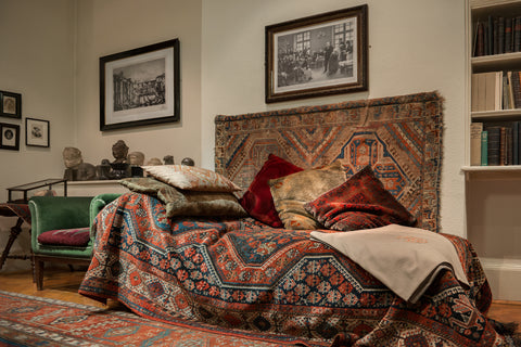 Freud's Couch, 20 Maresfield Gardens, Freud Museum London, London 2016