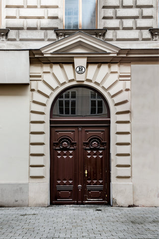 Main Entrance, Berggasse 19, Vienna 2016