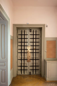 Barred Door in Vestibule, Freud's Office, Berggasse 19, Vienna 2016