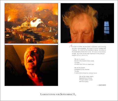 Lamentation for September 11, Print 2012