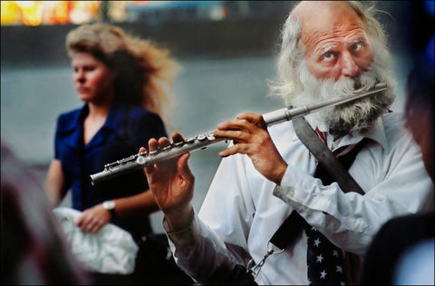 Untitled, (The Flutist) Circa 2002, New York