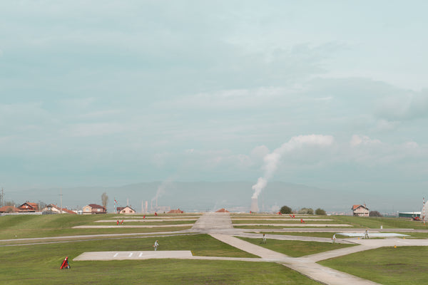 Grass Cutting, Heliport, Camp Film City, Kosovo 2013