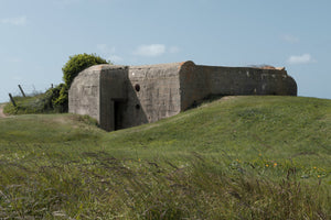 Gun Casement 1, Naval Coastal Battery, Longues-sur-Mer 2015