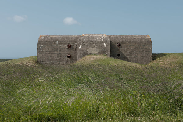 Gun Casement 2, Naval Coastal Battery, Longues-sur-Mer 2015