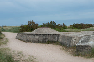 Observation Post Bunker, Juno Beach, Courseulles-sur-Mer, 2015