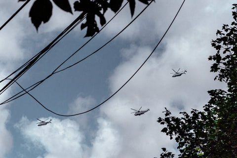 Untitled (Helicopters)