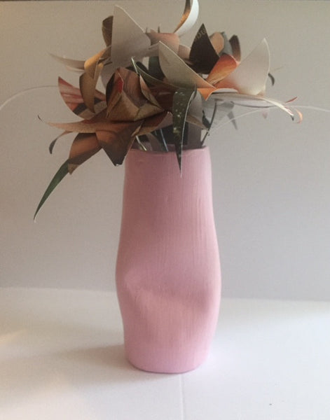 Untitled Body Vases with Paper Flowers