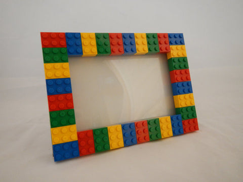 Picture Frames made using LEGO® elements