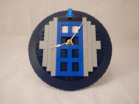 Doctor Who TARDIS LEGO Clock