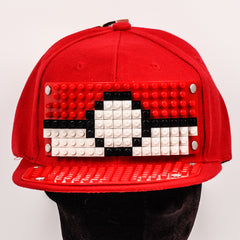 Bricky Blocks Build-On Baseball Hat