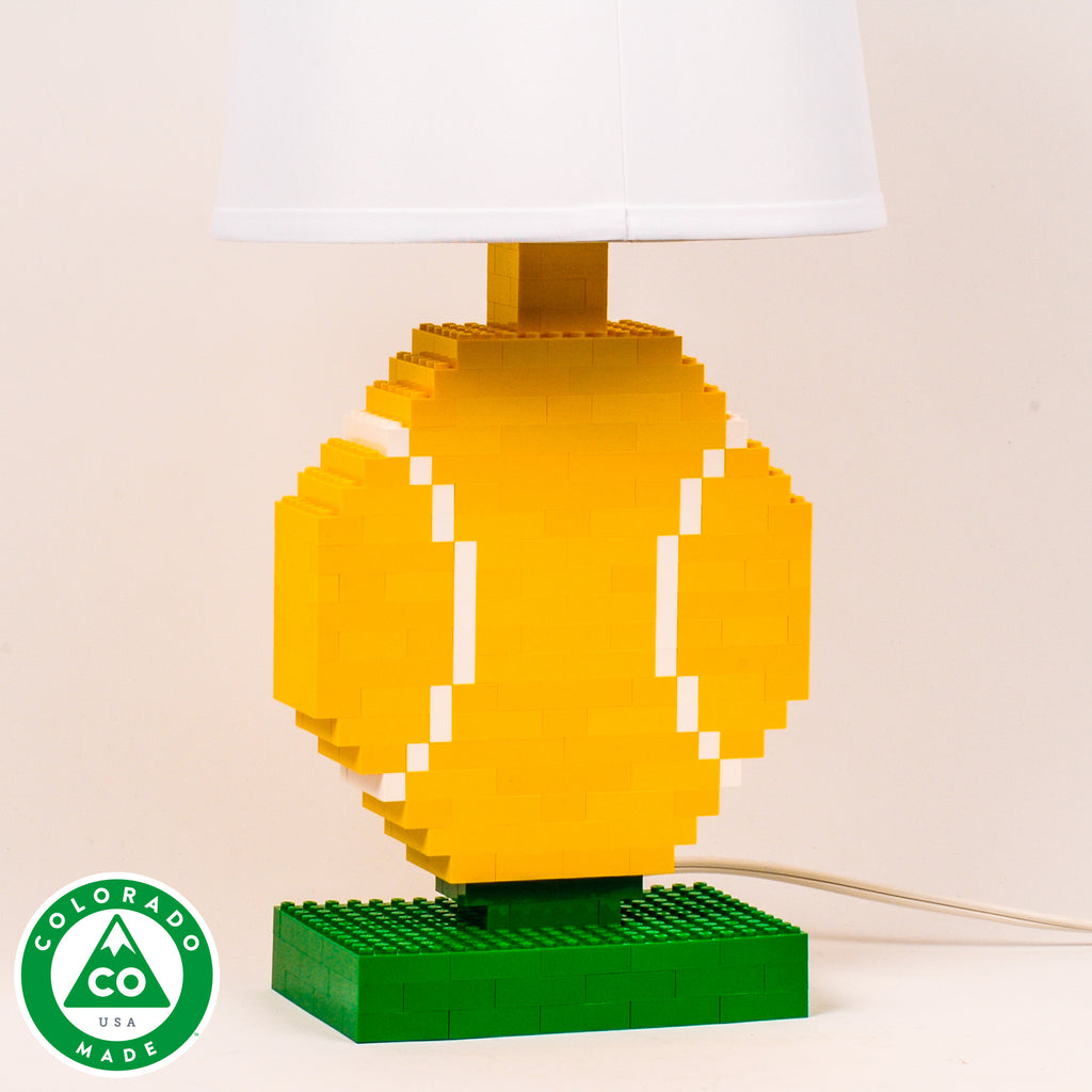 Sports Lamps Made Of LEGO® Elements