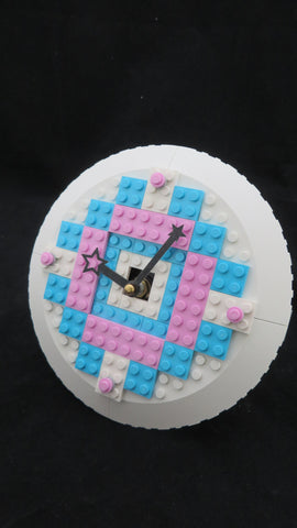 Girls Lego Clock