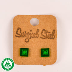 Square Lego Earrings