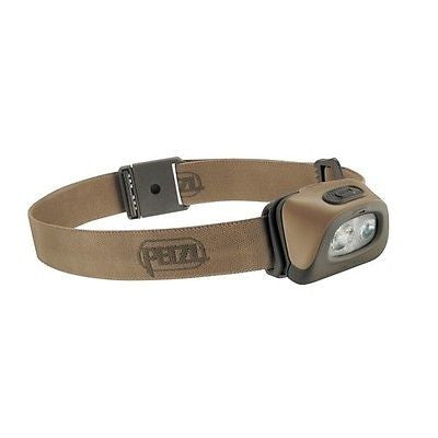 New PETZL Tactikka Plus + Headlamp 140 Lumans - Desert - Sweet!