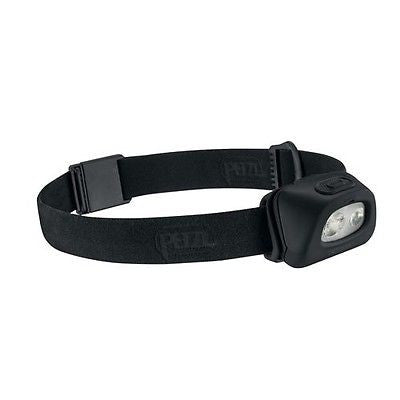 New PETZL Tactikka Plus + Headlamp 140 Lumans - Black