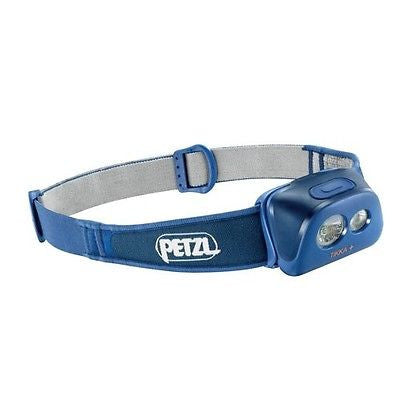 New PETZL TIKKA Plus + Headlamp 125 Lumens - Blue Jean