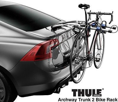 New Thule Archway 2 Bike Trunk Mount Bicycle Rack!