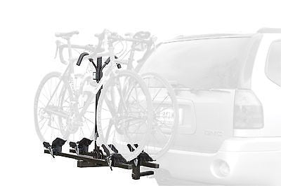 "New Thule Doubletrack 2 Bike Hitch Mount Bicycle Rack!Fits 1.25"" & 2"""
