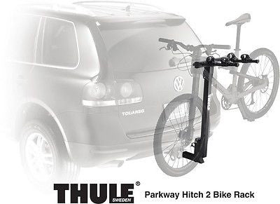 New Thule Parkway 2 Bike Hitch Mount Bicycle Rack! 2 inch Receiver - Sweet!