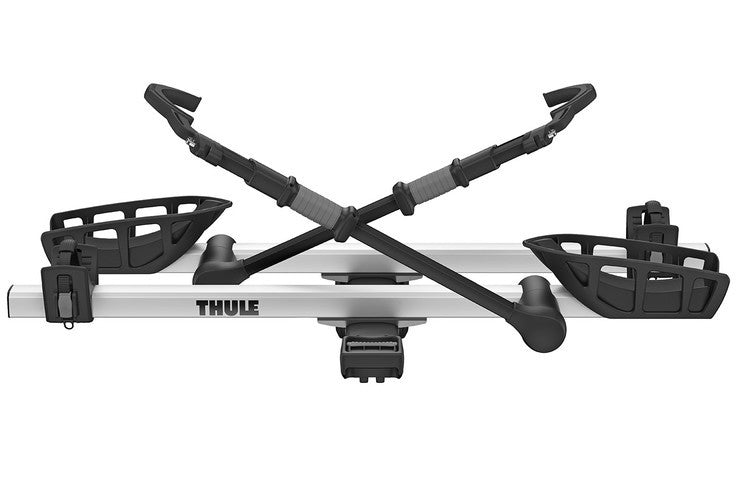 "New Thule T2 Pro XT Bike Rack! Fits 2"" Receivers - BLACK/SILVER - Model 9034XT"