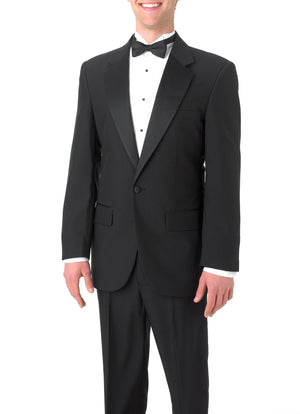 Bundle 1: Men's Single Breasted, Notch Lapel Tuxedo
