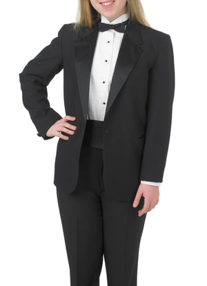Bundle 6: Women's Single Breasted, Notch Lapel Tuxedo