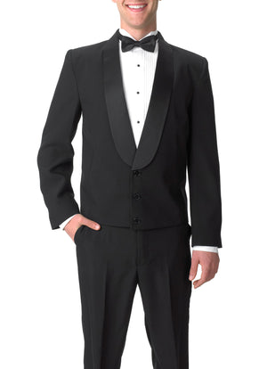 Bundle 9: Men's Satin Shawl Lapel Tuxedo