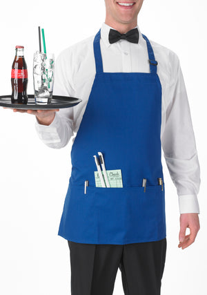 3-Pocket Bib Apron